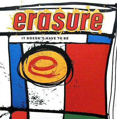 12 mute 56 - Erasure - It Doesnt Have To B - ID587z - vinyl 12