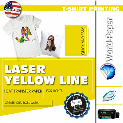 "LASER WATER SLIDE DECAL CLEAR /& WHITE  TRANSFER PAPER 1-20 pcs //8.3/"" x 11.7/"" #X1"