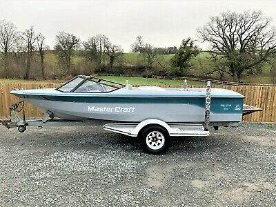 1989 Mastercraft Pro Star 190 5.7L V8 Petrol - Grey/Teal