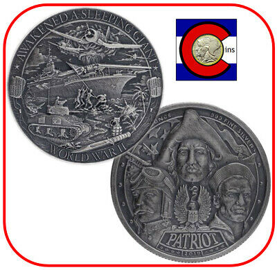 """Mason Mint Heritage 0.999 Silver Round /""""Excellence in Minting/"""" w//airtite capsule"""
