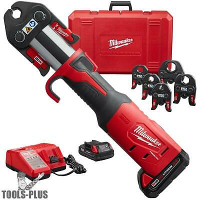 "Milwaukee 2773-22 1/2"" - 2"" M18 Force Logic Press Tool Kit New"