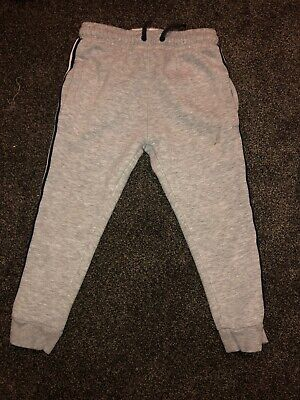 Next Age 5 Years Boys Grey Supet Skinny Joggers