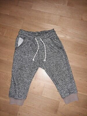 Next Boys Grey Joggers Size 9-12 Months