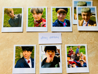 Bts Young Forever Official Photocards