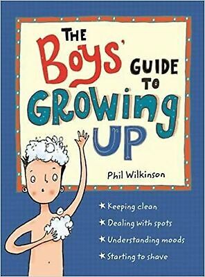 The Boys' Guide to Growing Up Paperback Book NEW