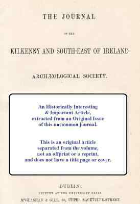 The Ancient Cross of Banagher, King's County. A rare original article from The J