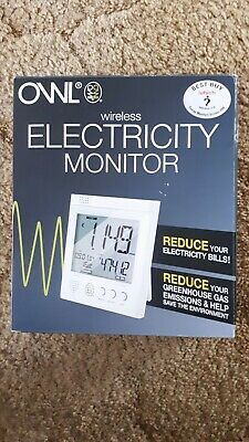 OWL WIRELESS HOME ELECTRICITY MONITOR New in box