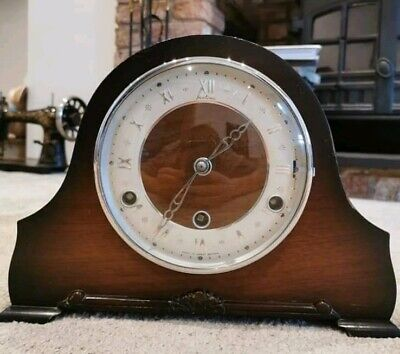 Vintage Bentima Perivale Westminster Mantle Clock