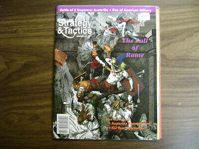 Strategy & Tactics #181 ~ The Fall Of Rome ~ Unpunched ~ Decision Games