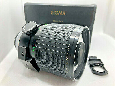 [SALE] Sigma tele lens 600 mm F 8 mirror reflex. For Canon FD