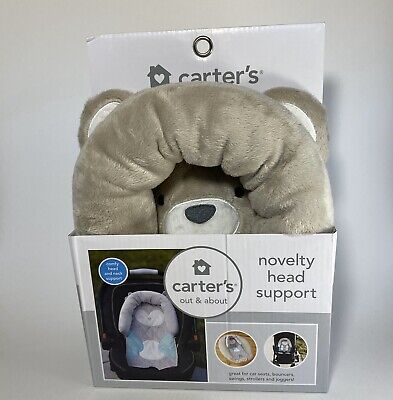 Brand New Carter's Baby Head & Neck Support - Car Seat/Strollers (Bear Design)