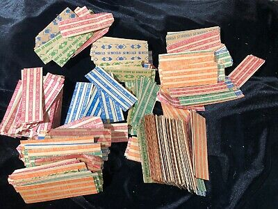 Coin Roll Wrappers Large Lot Assorted Flat Coin Papers Bundle