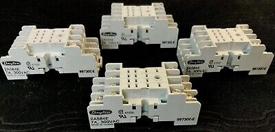 CUSTOM Connector QC11-PC 11-Pin 3-Pole Relay Socket with Pressure Clamp Screws