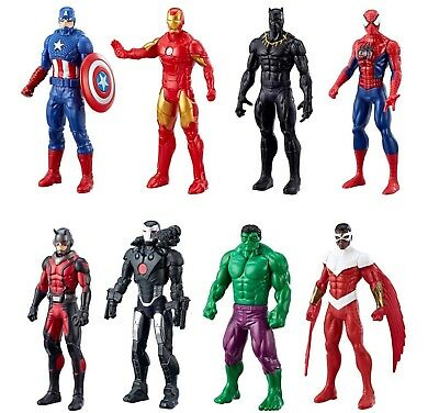 Marvel The Avengers Ultimate Protectors  Action Figures 8 Pack