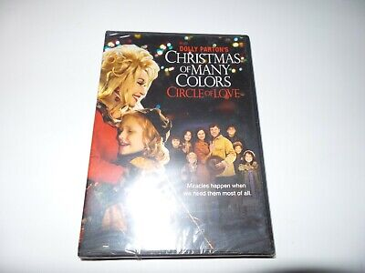 Dolly Partons Christmas of Many Colors: Circle of Love (DVD, 2016) New Sealed