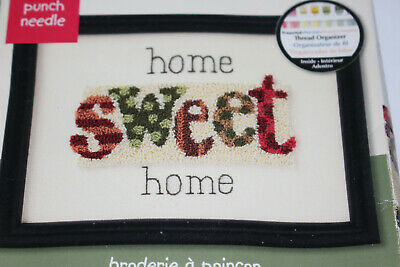 New Dimensions Punch Needle Kit 73405 Life Is Sweet Cupcakes 6x6 Size