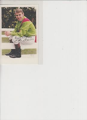 Willie Carson Autographed Photocard
