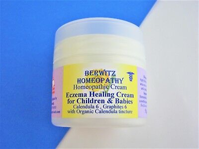 Eczema Healing Cream Baby Homeopathy Natural Calendula Graphites