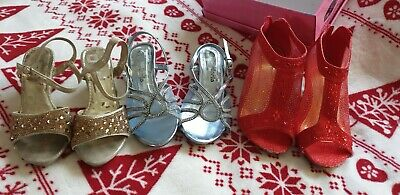 Girls Shoes Bundle Size 12 Infant.high heels. Dress up