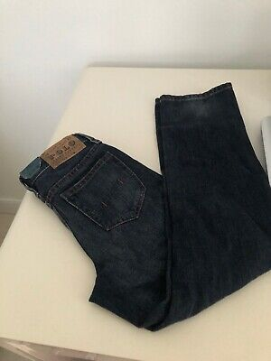 NEW RALPH LAUREN POLO boys jeans blue age 6
