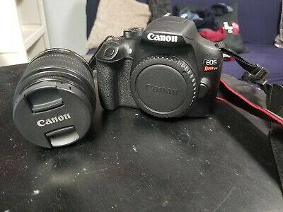 Canon EOS Rebel T6 with 18-55mm lens, 128gb and card and other accessories