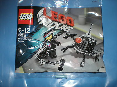 Neuf Polybag Lego The Lego Movie 30281 Micro Manager Bataille