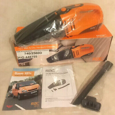 Rac RAC-HP095 12V Wet And Dry Vacuum Cleaner Working Boxed