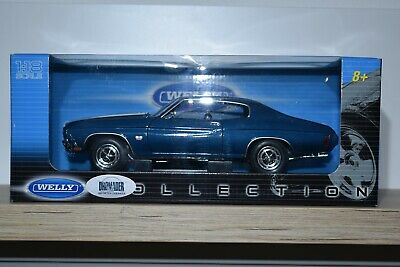 WELLY Collection 1:18 Chevrolet Chevelle SS 454 1970  #19855W