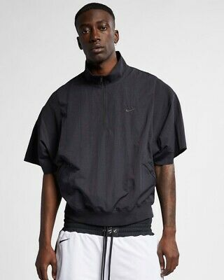 FEAR OF GOD x Nike 1/2 Zip Short Sleeve Jacket Black/Sail/Black  XL