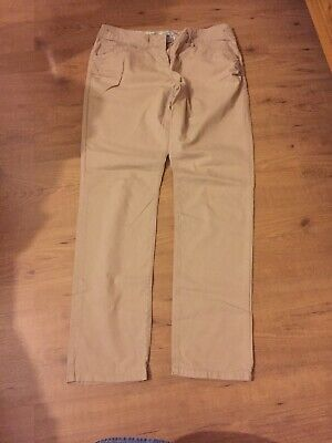 Girls Aged 16 Years Beige Summer Trousers Next
