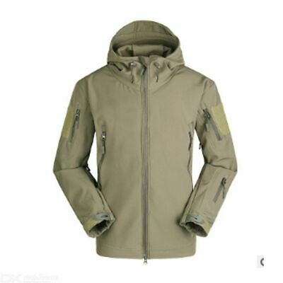 Men Outdoor  Jacket Coat Soft Shell Tactical Military Jacket