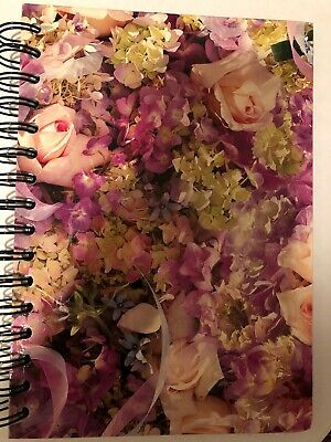 Victorian Journal Pink And Yellow Floral