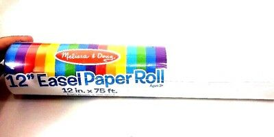 """11486 Melissa and Doug Easel Paper Roll 18/"""" x 75/' NEW!"""
