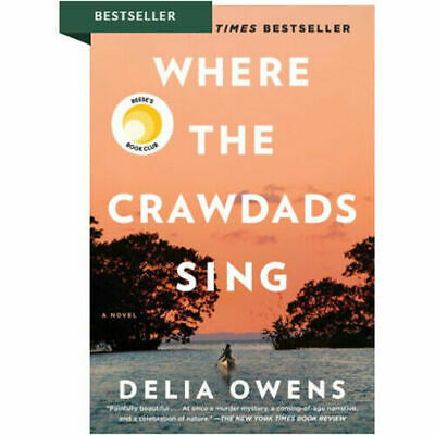 Where the Crawdads Sing by Delia Owens Fast Delivery