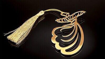 Gold Plated Bookmark Semazen