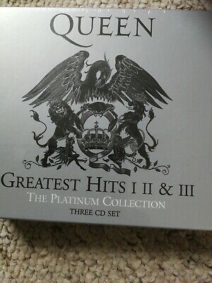 Queen Greatest Hits I II & III Platinum Collection NEW SEALED 3 CD Set 1 2 3