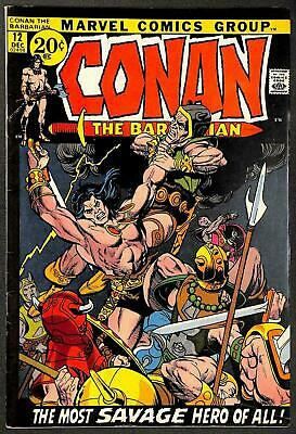 Conan the Barbarian #12 FN+