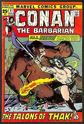 Conan the Barbarian #11 FN
