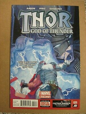 Thor God Of Thunder #20 - 1St Full Dario Agger In Minotaur Form