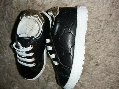 baby girl size 4 trainers BNWT river island