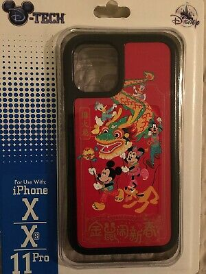 DISNEY PARKS 2020 CHINESE LUNAR NEW YEAR-YEAR OF THE MOUSE X/Xs/11PRO CASE
