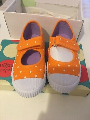 Mini Boden Girls Summer Shoes Trainers Size 7