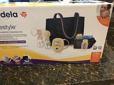 New Sealed Medela Freestyle Double Electric Breastpump Deluxe Set 165 00 Picclick