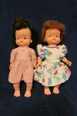 Vintage Pair of 1960's/70's Reliable Toy Company Canadian Dolls