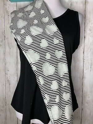 LuLaRoe Leggings~OS~Love Stories~Valentines~Hearts and Stripes~FAST Ship