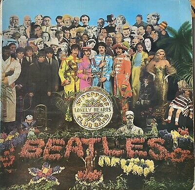 "The Beatles  ""Sgt. Pepper's Lonely Hearts Club Band"" PMC 7027 1/1 UK 1st KT 1967"