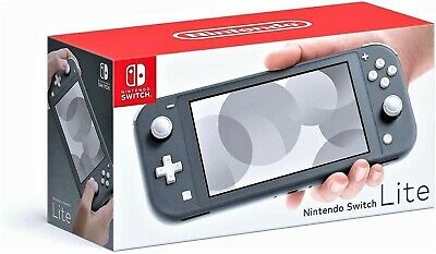 NINTENDO SWITCH LITE Gray Handheld Video Game Console Grey NEW from Healthy Home