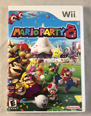 Mario Party 8 CIB (Nintendo Wii, 2007) Tested Works Great Complete