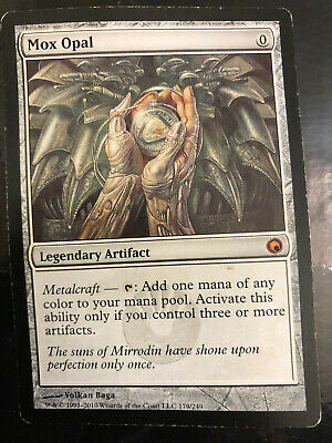MTG Magic the Gathering Mox Opal Scars of Mirrodin LP/MP