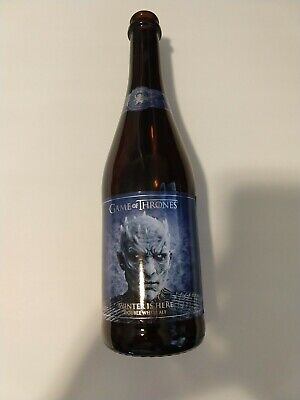 Ommegang GAME OF THRONES Winter is Here Night King EMPTY BEER BOTTLE